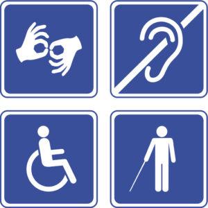 logo handicap - Travail des handicapés